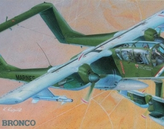Сборная модель Американский легкий штурмовик North American OV-10A Bronco