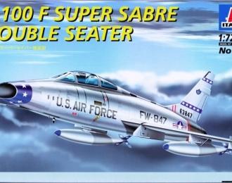 Сборная модель Американский истребитель F-100F SUPER SABRE (двухместный)