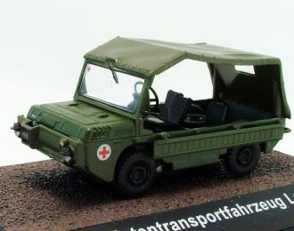 LUAZ 967M Geschadigtentransportfahrzeug (ЛУАЗ-967М), серия NVA-Fahrzeuge от Atlas Verlag, хаки