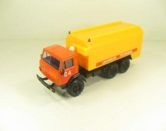 КАМАЗ 4310 Аварийная Техпомощь, оранжевый