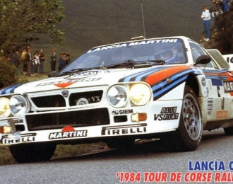 LANCIA 037 Rally '84 Tour De Corse Rally