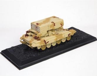 (Уценка!) Тяжёлая огнемётная система ТОС-1А, песочный камуфляж