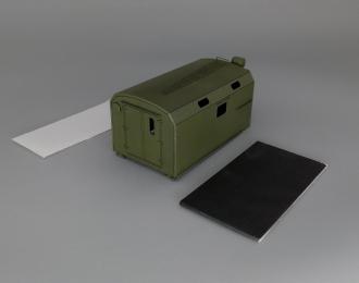 Надстройка Кузов унифицированный нормального габарита для ZIL-131 (1 окно), хаки