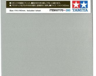 Наждачная бумага на поролоновой основе с зернистостью 2000