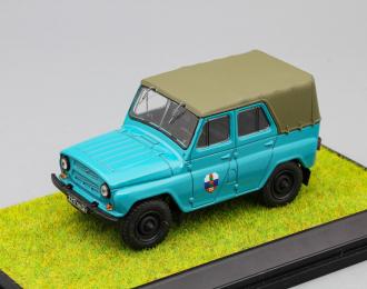 УАЗ 469 Пограничные Войска, зеленый