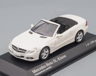 MERCEDES-BENZ SL-Class R230 (2008), white metallic