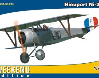 Сборная модель Самолет-биплан Nieuport Ni-23
