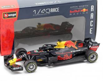 ASTON MARTIN Red Bull Racing TAG Heuer RB14 #3 D.Ricciardo Formula 1 2018
