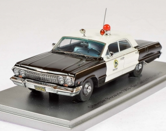 "CHEVROLET Biscayne ""San Carlos Police Department"" (1963), black / white"