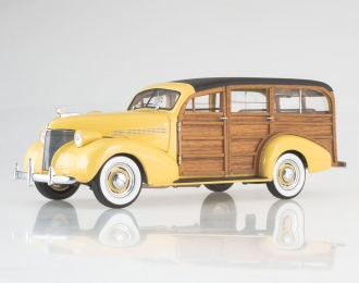 CHEVROLET  Woody Station Wagon, yellow / brown