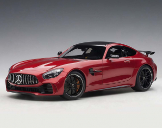 Mercedes-AMG GT-R 2017 (red)