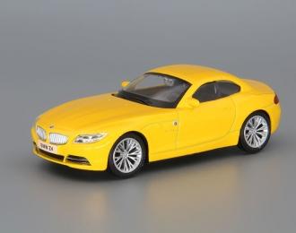 BMW Z4, yellow