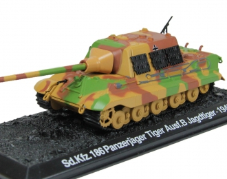 Sd.Kfz.186 Panzerjager Tiger Ausf.B Jagdtiger (1945), Танки Мира Коллекция 15
