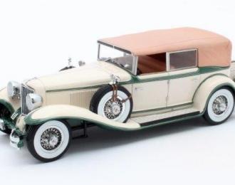 CORD L-29 Phaeton Sedan (закрытый) 1931 Beige