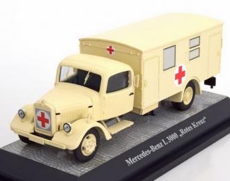MERCEDES-BENZ L3000 Мilitary Red Cross (1942), biege