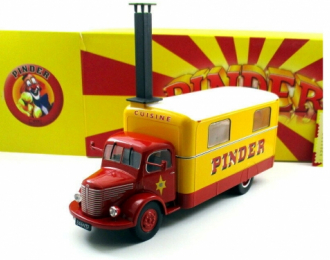 Unic Cuisine Circus Pinder Kitchen Truck 1952
