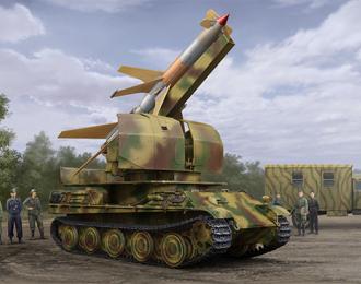 Сборная модель ЗРК Flakpanther w/8.8cm Flakrakete Rheintochter I