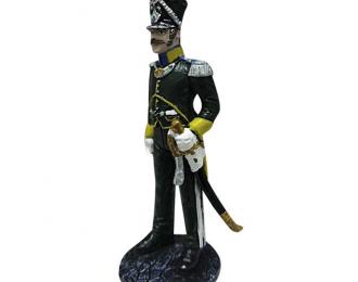 Фигурка Капитан вольтижерской роты 3-го временного Хорватского полка. Франция, 1812