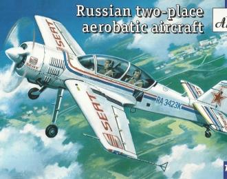 Сборная модель Российский спортивный самолет Су-29