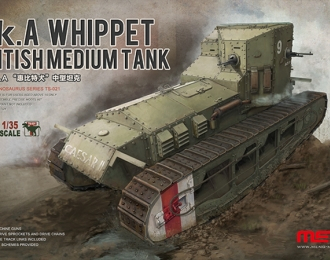 Сборная модель Британский средний танк Mk.A WHIPPET