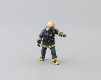 Фигурка Пожарный, подствольщик (звено ГДЗС)