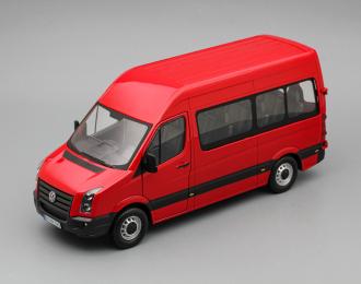 VOLKSWAGEN Crafter Bus, red
