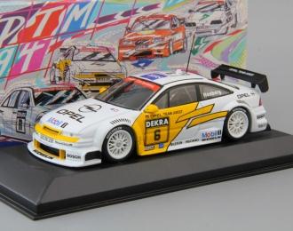 OPEL Calibra V6 4x4 DTM Joest Racing - K. Rosberg #6 (1994), white / yellow