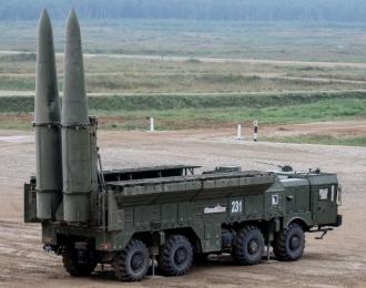 Сборная модель Пусковая установка комплекса Искандер-М