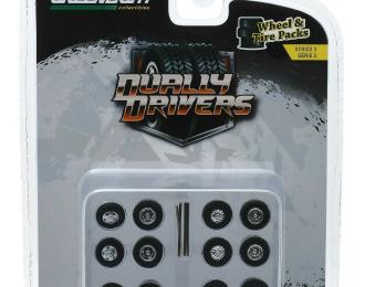 "набор ""Wheel & Tire Packs Series 3"" 4 комплекта колес Dually Drivers"