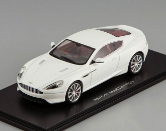 ASTON MARTIN DB9, stratus white, interior: chancellor red