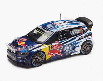 VOLKSWAGEN Polo WRC #2 Latvala - Anttila Rally Monte Carlo 2015