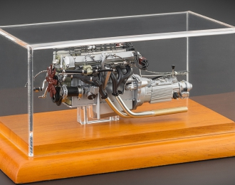 Aston Martin DB4 GT Zagato 1961 Motor with display