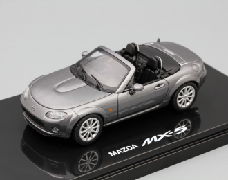 MAZDA MX-5, grey metallic