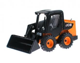 JCB Wheeled skid steer, black