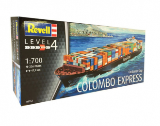 Сборная модель Container Ship COLOMBO EXPRESS