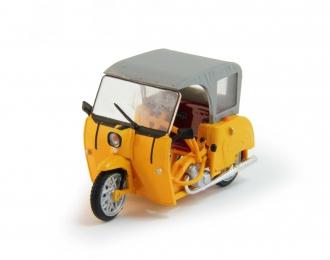 SIMSON DUO, Kultowe Auta 115, yellow