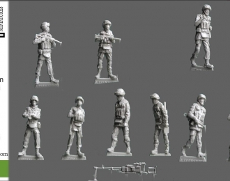 Сборная модель Армия Российской Федерации 2014