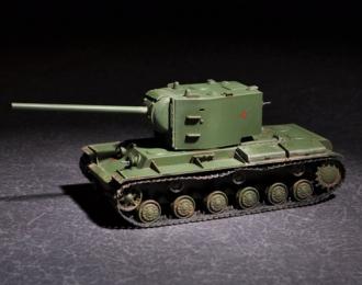 Сборная модель Танк Советский  КВ-2 с 107мм пушкой ЗИS-6