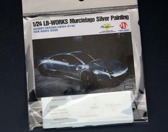 Набор для доработки Murcielago Silver Painting для моделей HD03-0500 (Decal+PE)