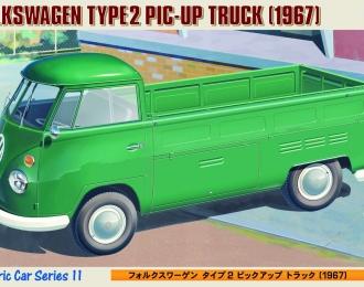 Сборная модель VOLKSWAGEN Type 2 Pic-Up Truck 1967
