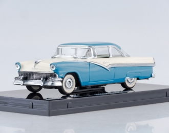 FORD Fairlane Hard Top (1956), bermuda blue/colonial white
