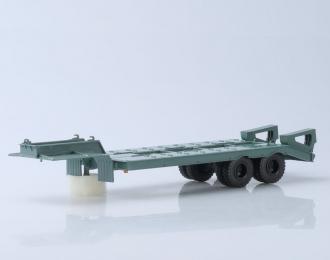 Полуприцеп-тяжеловоз ЧМЗАП-5523, бледно-зеленый