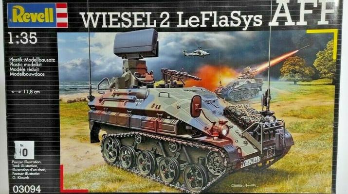 Сборная модель Wiesel 2 LeFlaSys AFF