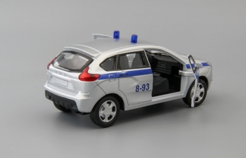 LADA XRAY Полиция, серебристый