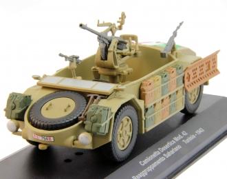 Camionetta Desertica Mod.42 Reaggruppamento Sahariano Tunisia 1943