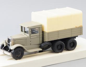 ЗИС-6 с тентом, серый