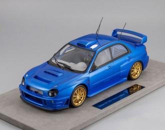 Subaru Impreza S7 555 WRT #0 Rally Race Vercion 2002