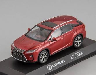 LEXUS RX200t, red