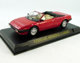 FERRARI Mondial Cabriolet, Ferrari Collection 38, red