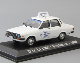 DACIA 1300 Bucharest (1980), white
